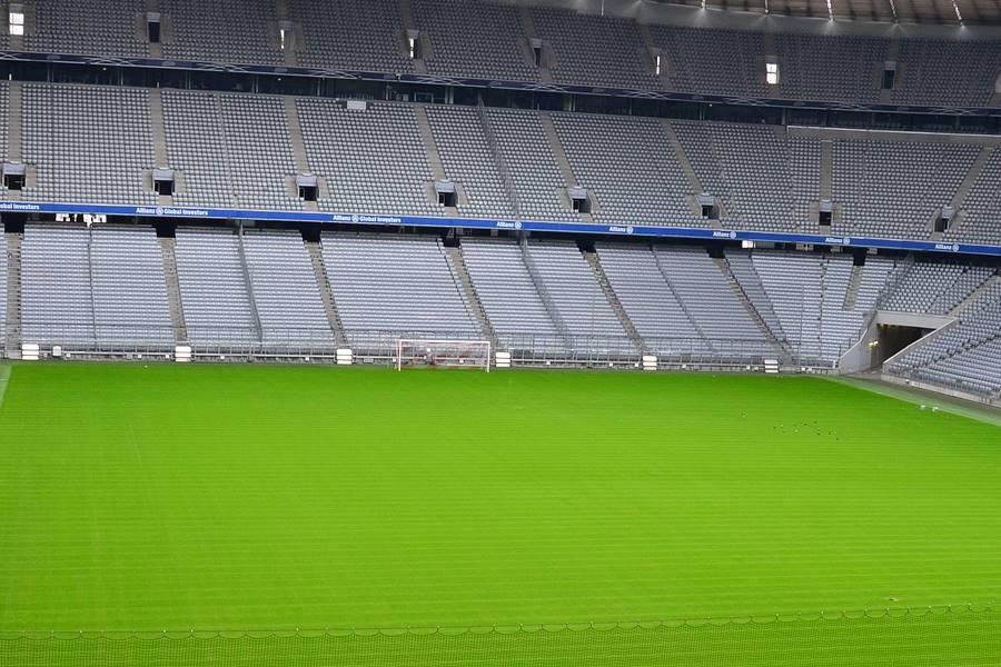 Campo de fútbol sin gente, análisis de los equipos de la Premier League tras la pandemia por coronavirus,
